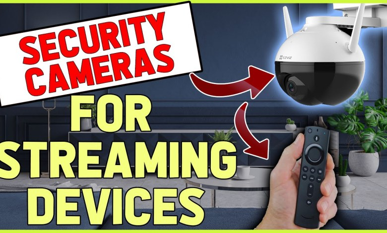 I turned my Streaming Device into a Home Security System...... (EZVIZ C8C Review)