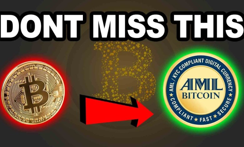 IS THIS THE NEXT BEST CRYPTO CURRENCY TO INVEST IN 2018?? AML TOKEN  BITCOIN