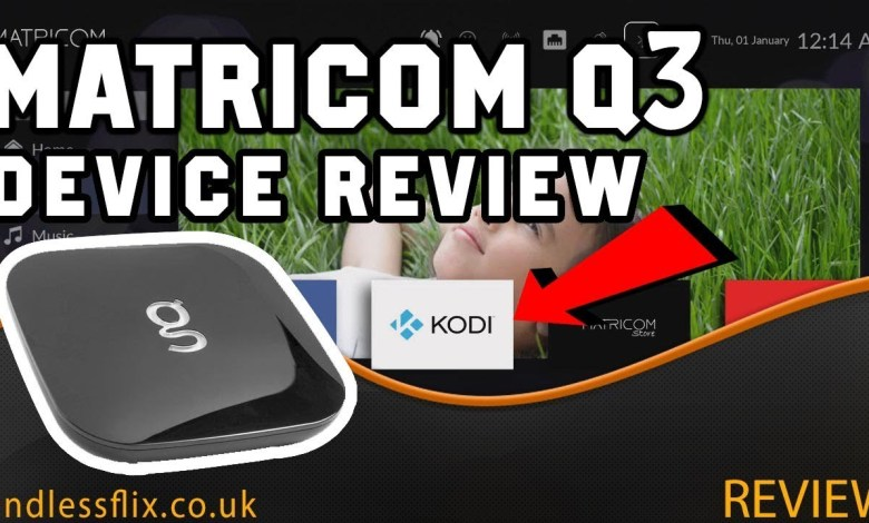THIS ANDROID TV BOX IS THE BEST!!! MATRICOM Q3 ANDROID TV REVIEW
