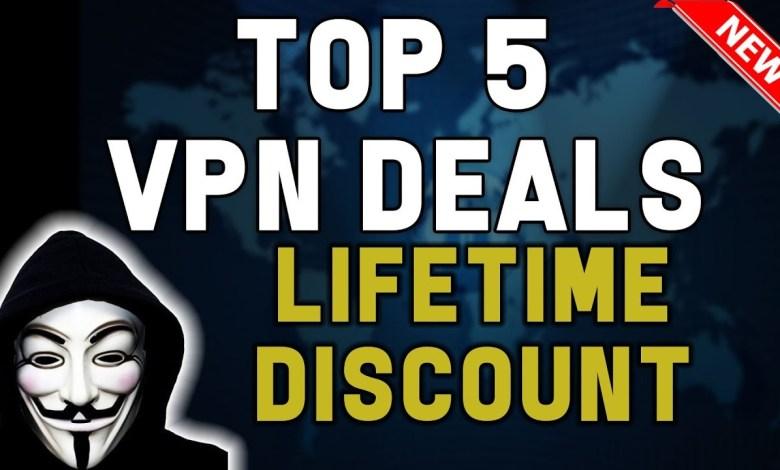 TOP 5 VPN DEALS YOU SHOULDNT MISS......