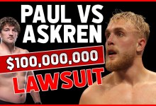 JAKE PAUL VS BEN ASKREN STREAMERS LAWSUIT 🔨   $100 MILLION....