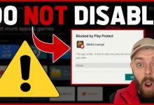 DO NOT DISABLE Google Play Protect ⛔(APPS BLOCKED by Google)