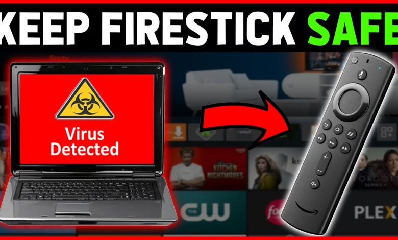 KEEP AMAZON FIRESTICK SAFE WITH THIS VIRUS SCANNER APP......⚠