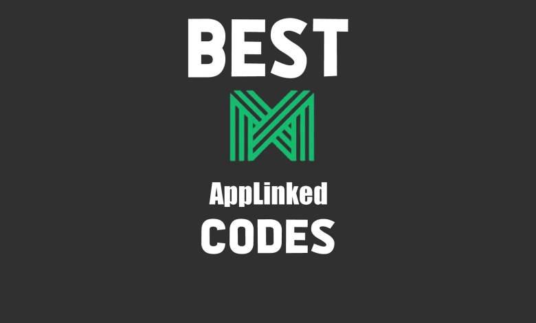 best applinked codes 2021