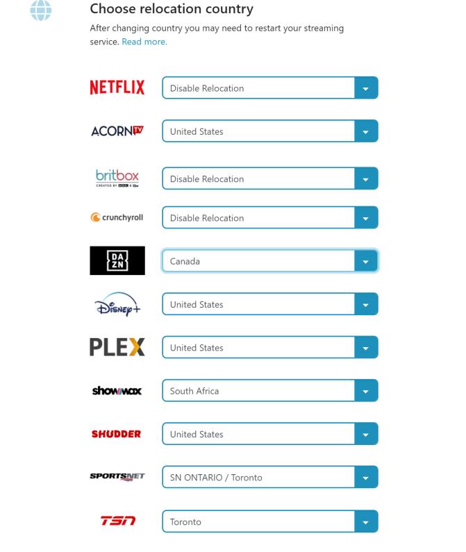 Access DAZN Canada with StreamLocator.
