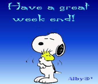Snoopy week-end