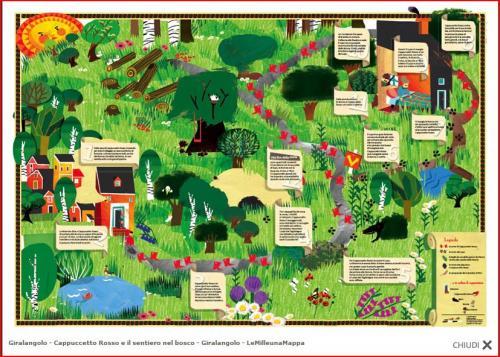 Cappuccetto Rosso e il sentiero nel bosco