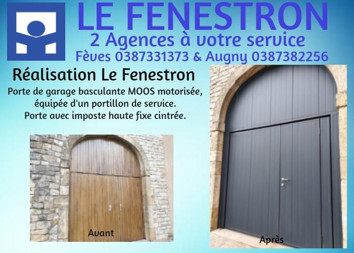 Portes De Garage Le Fenestron Feves Augny