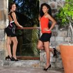 Candidates Miss Réunion - Robes L'effet Péi