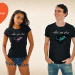 Je t'aime... Moi non plus ! T-shirt collector Saint-Valentin