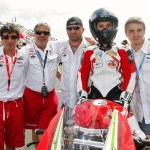 Team Honda - Thomas Metro - Pilote réunionnais au 24h du Bol d'Or 2013 - Circuit de Magny-Cours