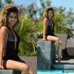 Maillot de bain une pièce Sexychic Arielle - Piscine de l'hôtel Iloha à Saint-Leu - île de la Réunion
