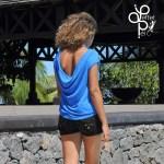 Top Jane - Bleu - L'effet Péi Réunion