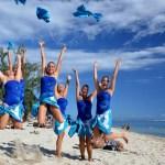 Les Aquagirls - Lagon de l'Hermitage - île de la Réunion