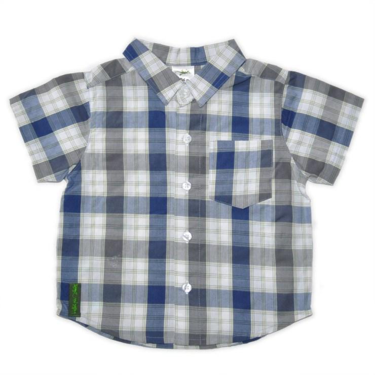 Chemise à carreaux marmaille - Schot Bleu