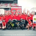 La Team L'effet Panigale aux 24 heures de Barcelone 2012