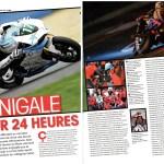 L'effet Panigale aux 24heure du Mans 2013 - Article Paru dans le Moto Journal du 29 août 2013