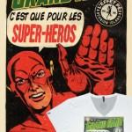 T-shirt Collector - Le Grand Raid c'est que pour les Super-Héros !