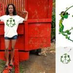Tee-shirt Peace - L'effet Péi