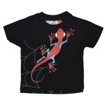 Tee-shirt noir enfant Spidermarg