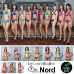 Les candidates Miss Réunion Nord en bikini L'effet Péi