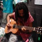 Guitariste de Yaëlle Trulès - Daniel Reisser live Boutique L'effet Péi Saint-Leu Portail