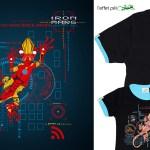 T-shirt Homme et Enfant Iron Marg