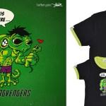 Tee-shirt Hulk - enfant et homme - Margvengers