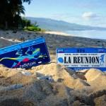 City Plak - La Réunion & Margouillat Flag - La Saline les bains - ÎLE DE LA RÉUNION