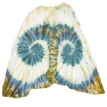 Sarouel Tie & Dye L'effet Péi Femme Bleu Pétrole