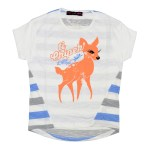 T-shirt fille Ti Chipek - Mamzelle L'effet Péi
