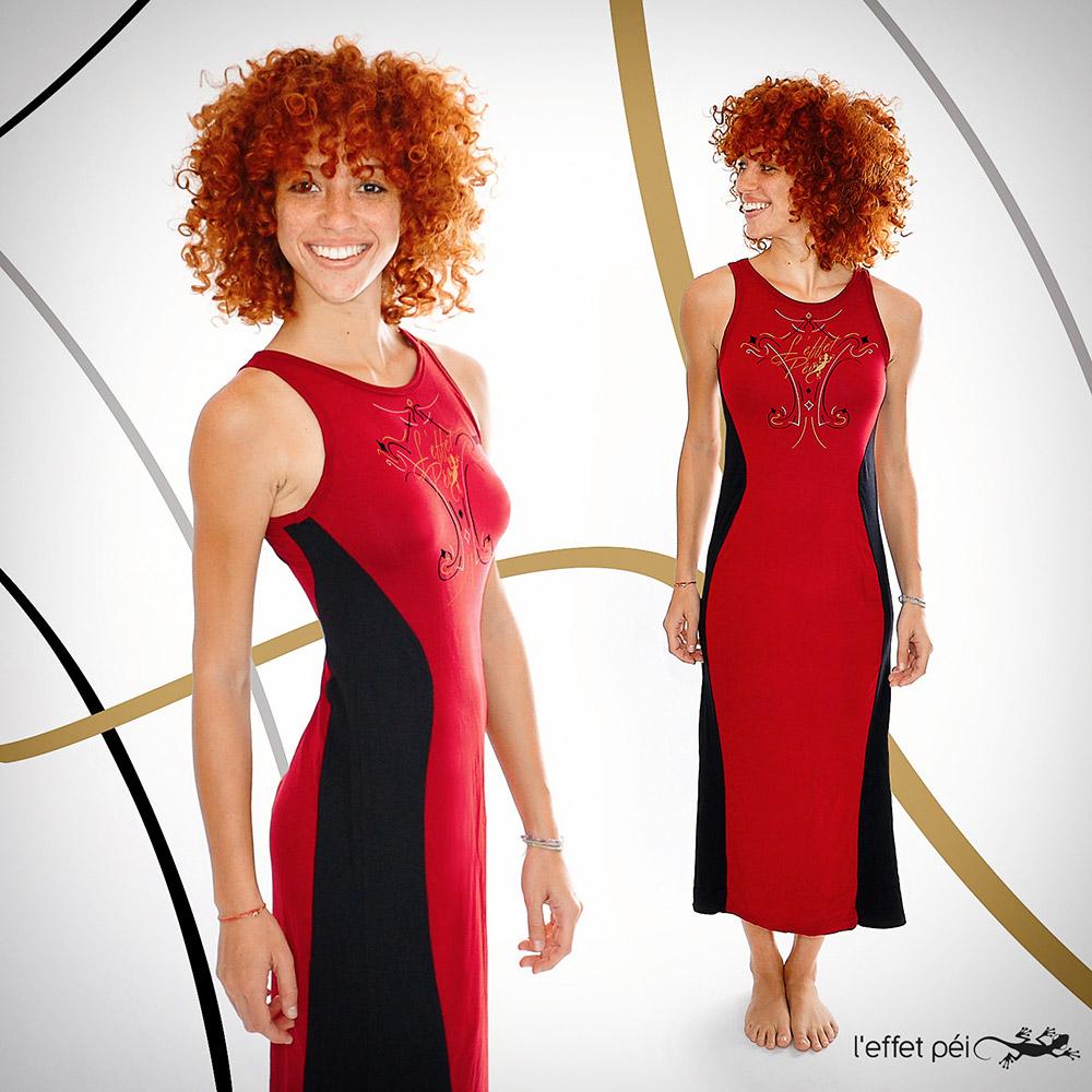 Robe longue Cintra - L'effet Péi Mode in