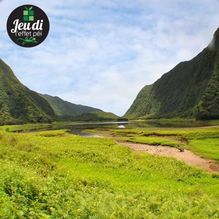 Plan d'eau - île de la Réunion