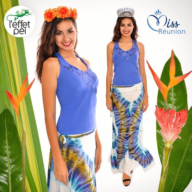 Ambre Nguyen Miss Réunion 2016 nous présente une tenue hippy chic !