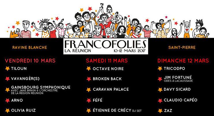 Programmation Francofolies