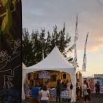 Stand L'effet Péi des Francofolies de la Réunion 2017