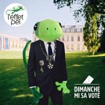 Dimanche mi sa voté - Margouillat Président