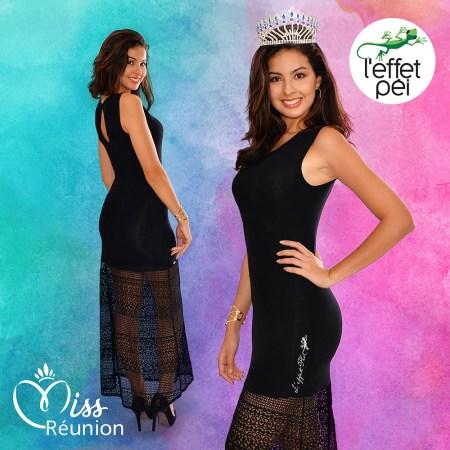 Ambre Nguyen Miss Réunion nous présente la robe longue Mélina