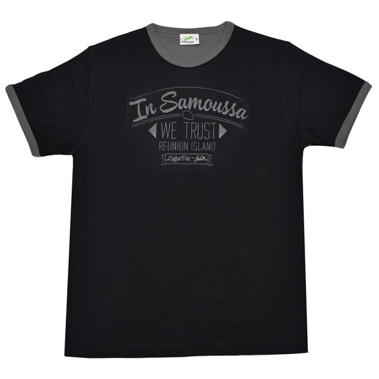 T-shirt In Samoussa We Trust