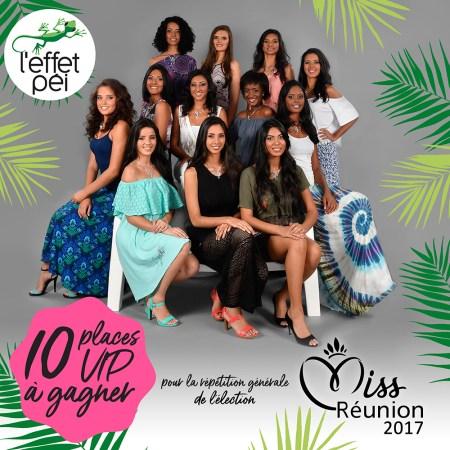 Quelle est votre candidate préférée à l'élection de Miss Réunion 2017 ?