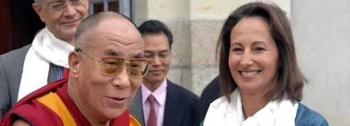 Ségolène Royal a été reçue <br/>par le dalaï-lama<br/>