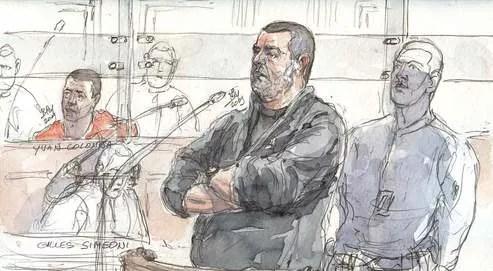 Didier Maranelli a tenté d'accréditer l'idée que l'accusé ne serait qu'un leurre utilisé pour éviter des poursuites aux autres membres du groupe, non identifiés à ce jour -.