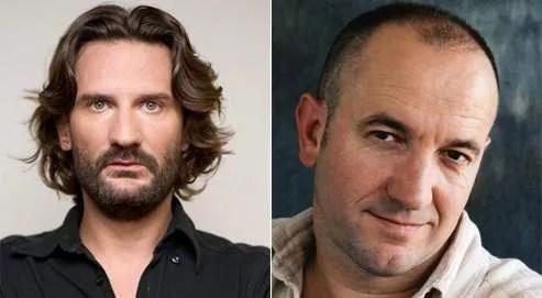 Frédéric Beigbeder et Philippe Claudel. (Baltel/SIPA/Francesca Mantovani/Stock)