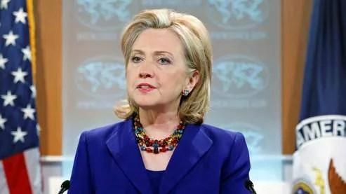 La secr�taire d'Etat Hillary Clinton a pr�sent� le rapport 2009 des Etats-Unis sur la situation des droits de l'homme dans le monde.