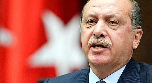 lLe premier ministre turc, Recep Tayyip Erdogan.