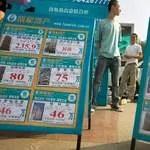 L'Académie des Sciences Sociales estime que 85% des foyers chinois n'ont pas les moyens de s'acheter leur maison. Crédit photo : AP
