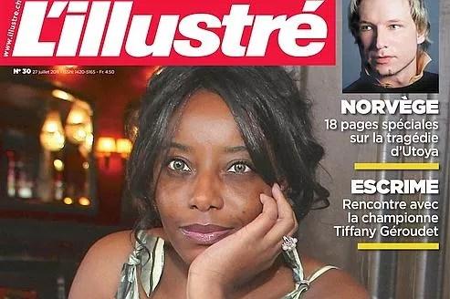 Se disant harcelée par les médias, Marie-Victorine M. s'est réfugiée en Suisse et a donné une série d'interviews pour désamorcer l'intérêt des journalistes. Crédit : l'Illustré.