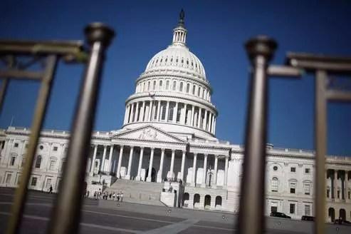 La colline du Capitol, à Washington.