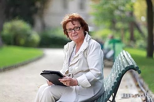 Christine Boutin, mercredi à Paris.