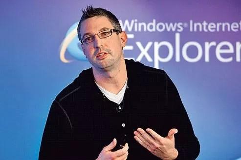 Ryan Gavin, le patron d'Internet Explorer: «Notre objectif principal pour concevoir IE10 a été d'apporter la fonction tactile à Internet.»